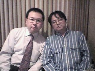 田名後君(右)とわし(左)