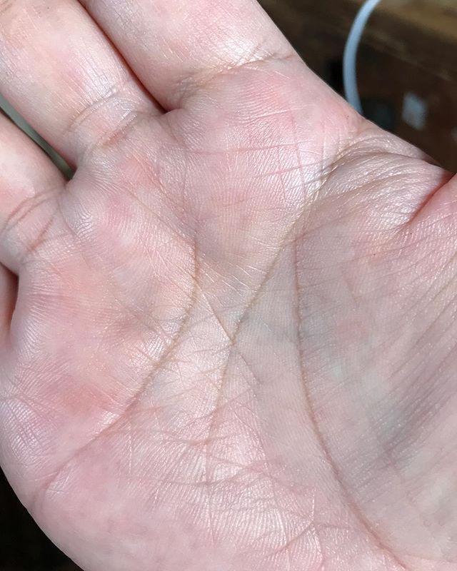 右手はM#手相 #右手