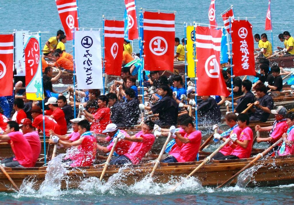 因島水軍まつり「海まつり」小早レース