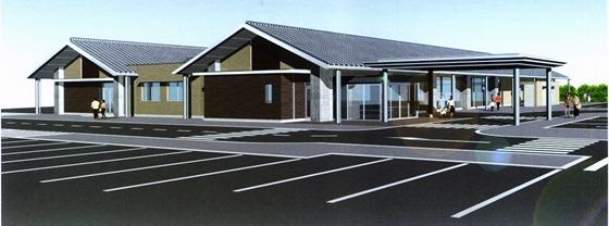 市立病院瀬戸田診療所 新築安全祈願祭 来年4月開業予定