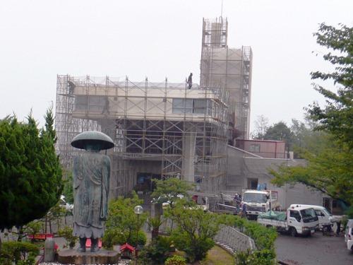 因島ロッジ改修に着工 総工費1億4180万 来年3月を完成めざす