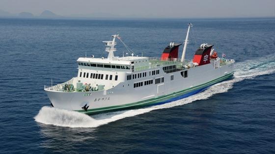 内海造船で貨物船進水 2隻が相次...