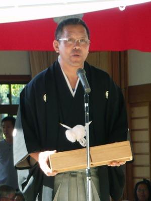 若い世代につなげたい 奉納相撲第32代頭取 柏原功さん(50)