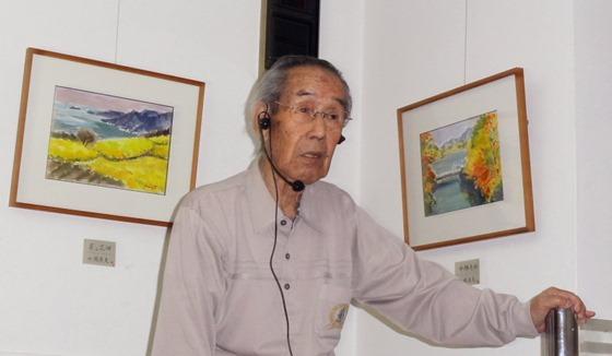 「絵の見方」【2】青木廣光さん 三人展ギャラリートークより