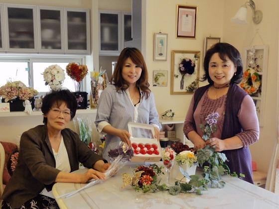 心に届く魔法の花 プリザーブドフラワー 教室キャンティーローズ(因島中庄町)