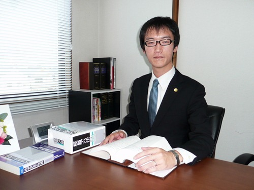 ふるさと往来【5】田熊町に事務所開設 弁護士松島功治さん(32)