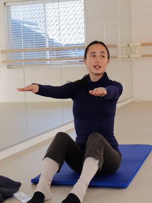 ふるさと往来【6】腰痛解消にピラティス インストラクター藤田治美さん(35)