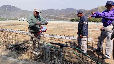 重井地区へ給水始まる 奥山ダム、中庄に続き 県と市長出席し開始式