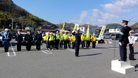 連続する交通死亡事故 現場で警察が点検活動 因島警察交通課長に聞く