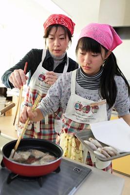 全国親子料理大会 田頭さん母娘が出場 中国ブロック代表