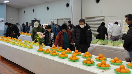 農産物品評会 尾道市長賞 岡野美代子さん