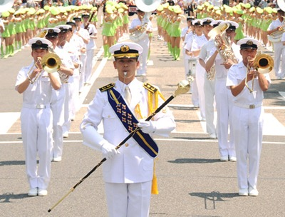 水軍まつり20周年記念 海自呉音楽隊が演奏会 因島市民会館大ホール