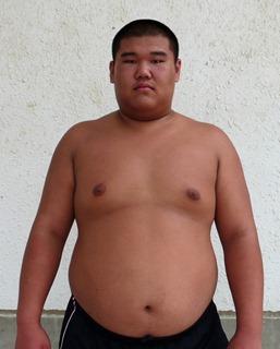 因南中3年谷中君 相撲で全国へ