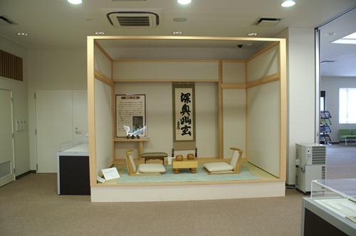 プロ棋士気分誘う日本棋院対局室「幽玄の間」本因坊秀策囲碁記念館に再現