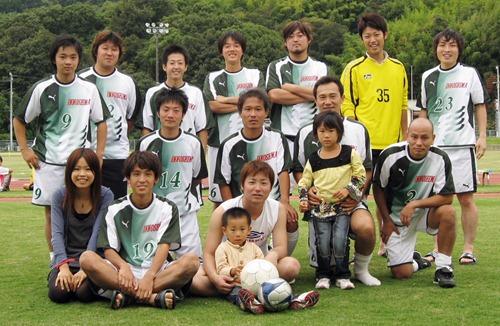 伝統の社会人チーム サッカー因島クラブ 5年ぶり中国大会出場