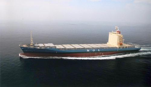 内海造船瀬戸田 コンテナ船完工