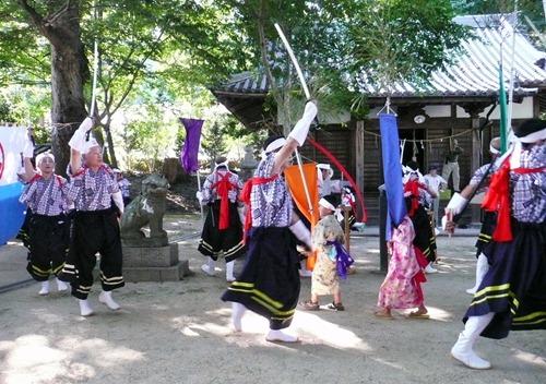 県無形民俗文化財 椋浦町法楽踊り