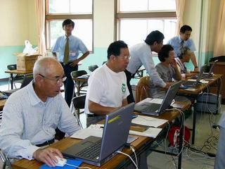 [7月23日] 中庄郵便局がパソコン教室