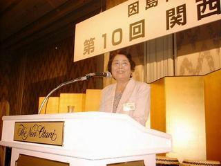 [8月13日] 因島高同窓会 関西支部総会 設立30年を盛大に祝う