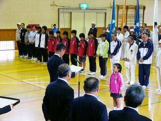 [10月15日] 第36回因島市総合体育大会 14競技、市民1800人参加