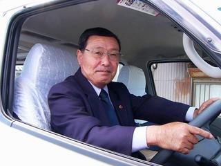 [10月29日] 三浦線バス運転し9年目 ふれあい号運転手 東洋一さん(66)