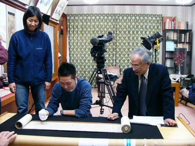 [1月29日] NHKが「秀策」特別番組 外浦「碁聖閣」などで収録