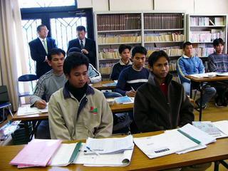 [2月 5日] タイ人研修生のための防犯・交通・消防教室