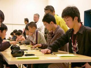 [4月 1日] 虎ちゃん囲碁祭り 55人少年少女熱戦
