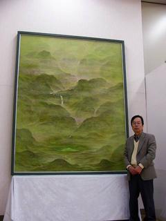 [5月20日] 中村千里展 「山気」など47点