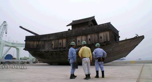 [6月17日] 大阿武船がついに解体