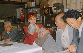 [10月26日] 元英軍捕虜の娘ジェーンさん ゆかりの三庄町などを訪問