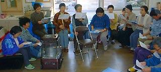 [11月 9日] オレンジ作業所 本番へ合唱練習