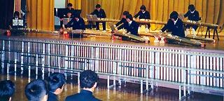 [11月23日] 生口中で文化祭 生徒が琴の演奏