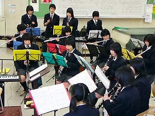 [3月15日] 因島高校吹奏楽部 定期演奏会22日