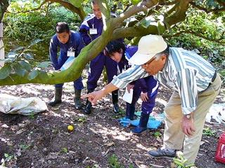 [10月11日] イノシシ被害 中学生が学習