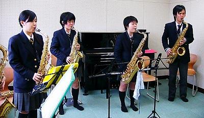[3月13日] 因島高校吹奏楽部 因島市民会館で第5回定期演奏会 21日