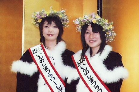 [3月19日] いんのしまフラワーレディ 2人とも中庄のお嬢さん 5月連休がデビュー
