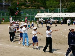 [5月27日] 統合の大浜小 最後の運動会