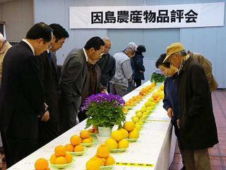 [1月22日] 2005因島農業祭 JA合併後はじめて 特設会場4千人で賑う