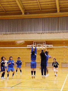 [1月22日] 全国高校バレー尾三予選 因島高女子が準優勝 広島県大会に出場へ