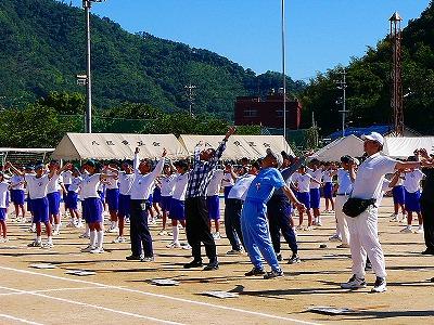 [6月19日] 中学校と町民合同運動会 三庄町で1700人参加 町活性化の祭典成功