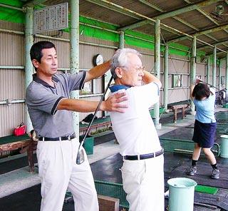 [7月 3日] 因島ゴルフセンター レッスンプロがゴルフ教室