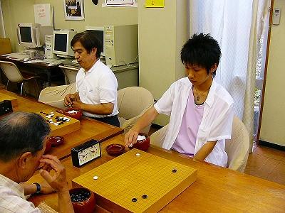[7月24日] 福井盛人6段全国大会へ 岡野涼太君と師弟で出場