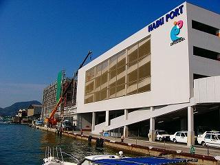 [10月23日] 因島市営中央駐車場が完成 11月1日から24時間営業 土生町活性化への起爆剤