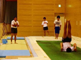[10月30日] 因島高体操部1年生健闘 尾三地区新人大会で優勝