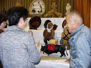 [11月 6日] 中庄ふるさと祭 94歳東さん出品