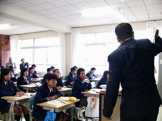 [11月13日] 道徳教育研究会瀬戸田高校で