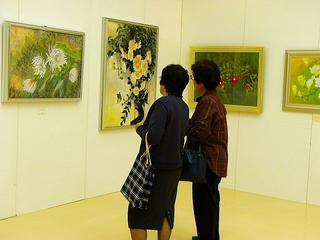 [11月13日] 因島日本画展 好評開催中