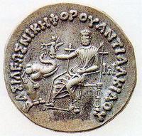 ゼウス神像の銀貨