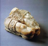 前3世紀ゼウス神像の左足